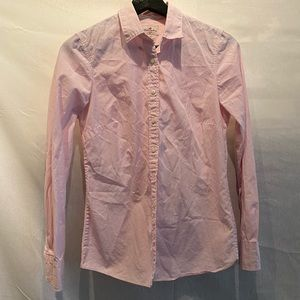 J Crew pink button down
